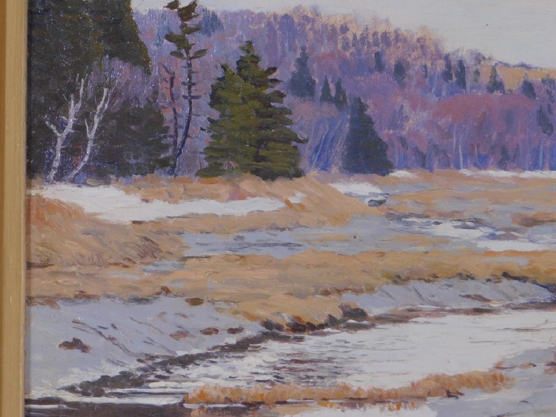 John Haapanen Autumn River Landscape Painting - 3