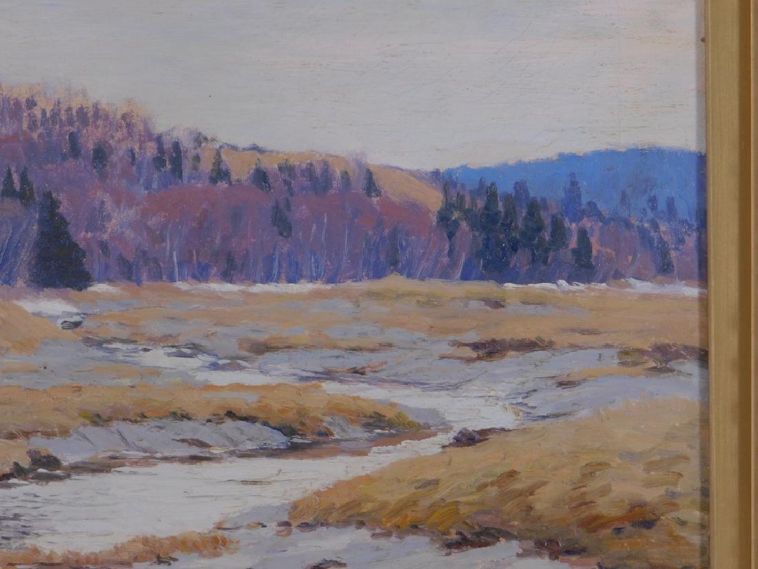John Haapanen Autumn River Landscape Painting - 4