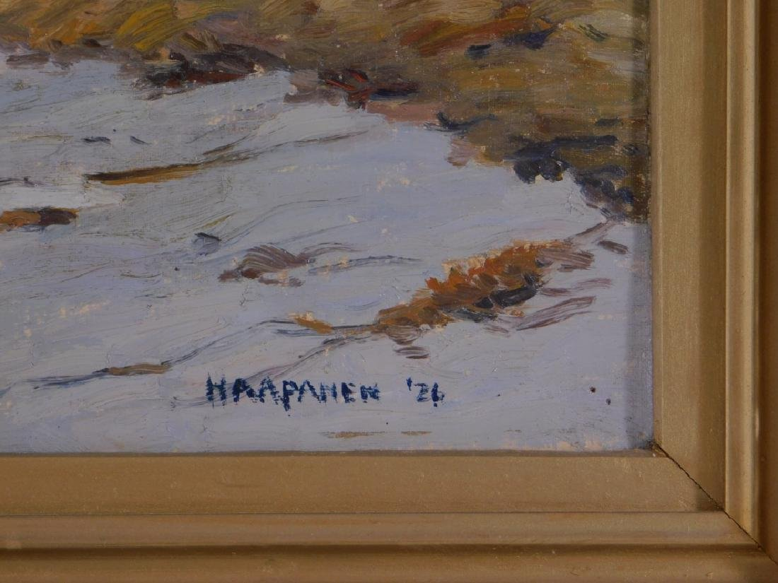 John Haapanen Autumn River Landscape Painting - 5