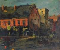 Attrib. A. Goodwin Impressionist Boston Painting