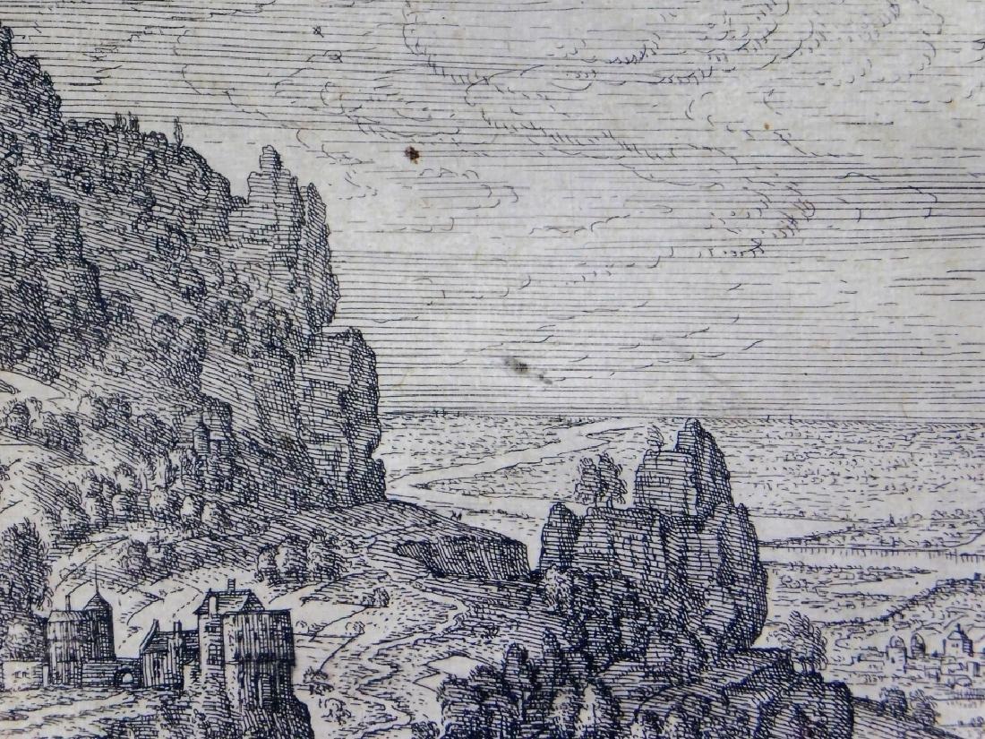 Pieter Van der Borcht Hagar & The Angel Etching - 3
