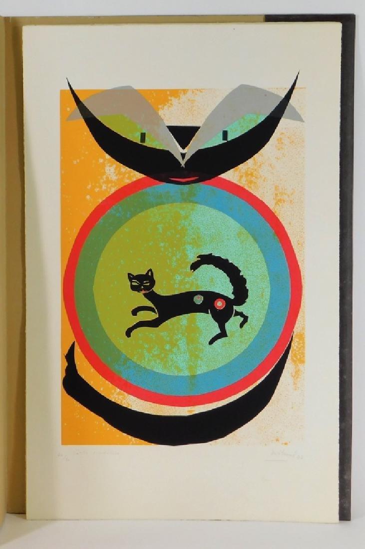 8 Maria Teresa Toral Misterio del Gato Serigraphs - 3