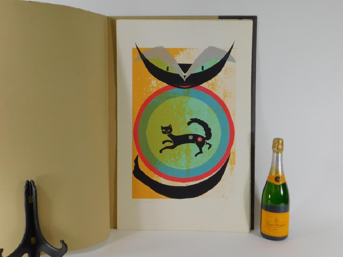 8 Maria Teresa Toral Misterio del Gato Serigraphs - 9