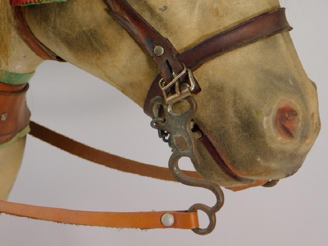 FINE C.1900 German Papier Mache Horse Ride On Toy - 3