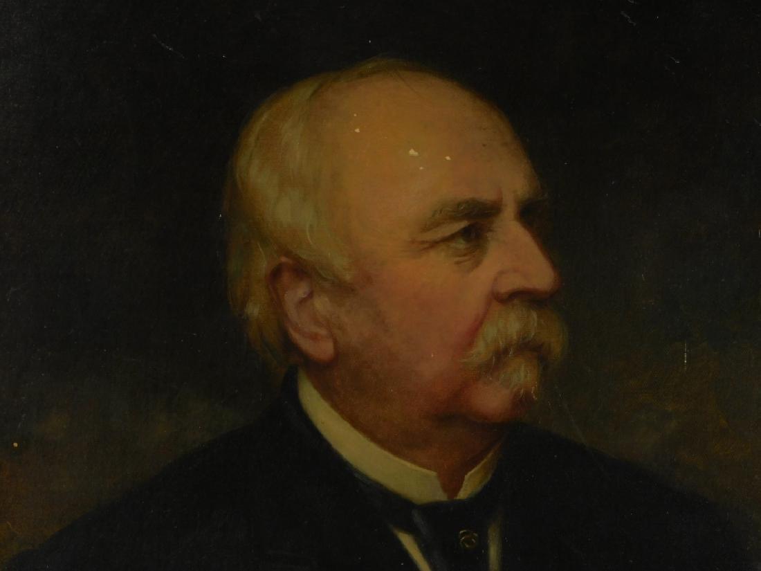 1886 Nicola Marschall Gentleman Portrait Painting - 2