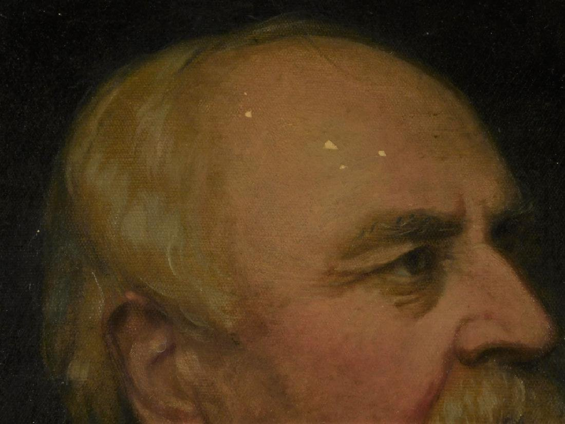 1886 Nicola Marschall Gentleman Portrait Painting - 4