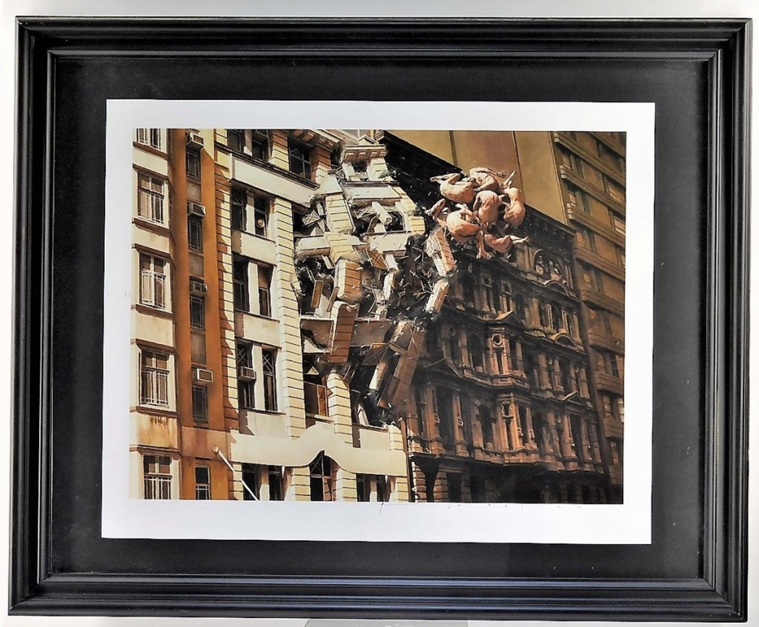 Jeremy Geddes Pale Memory Giclee Print 92/100