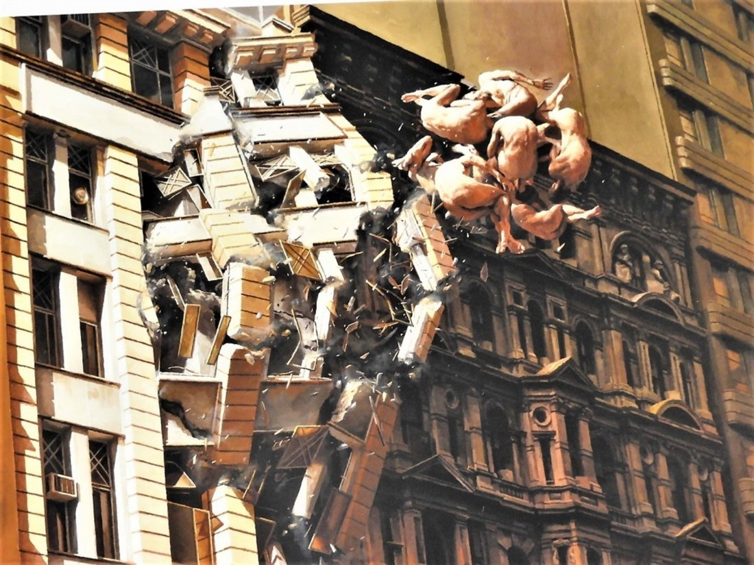 Jeremy Geddes Pale Memory Giclee Print 92/100 - 2