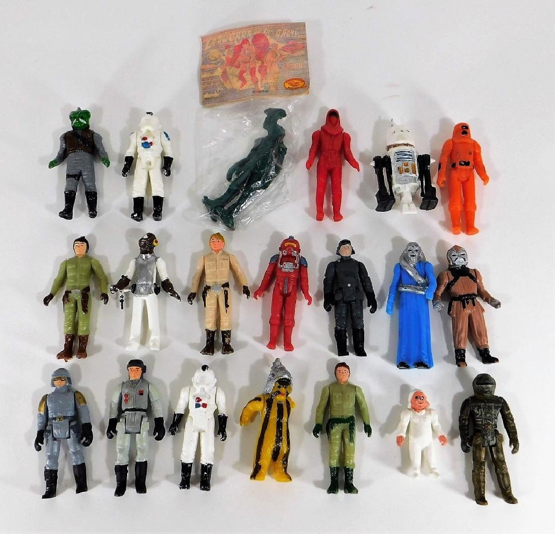 20 Period Mexican Star Wars Bootleg Action Figures
