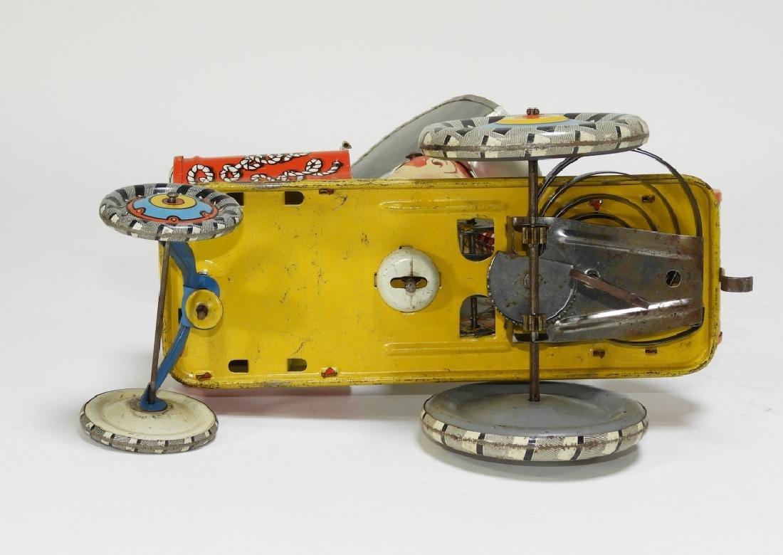 Unique Art Tin Litho Rodeo Joe Western Wind Up Toy - 5
