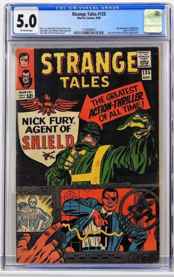 Marvel Comics Strange Tales #135 CGC 5.0