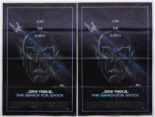 2 Star Trek III The Search for Spock 1984 Posters