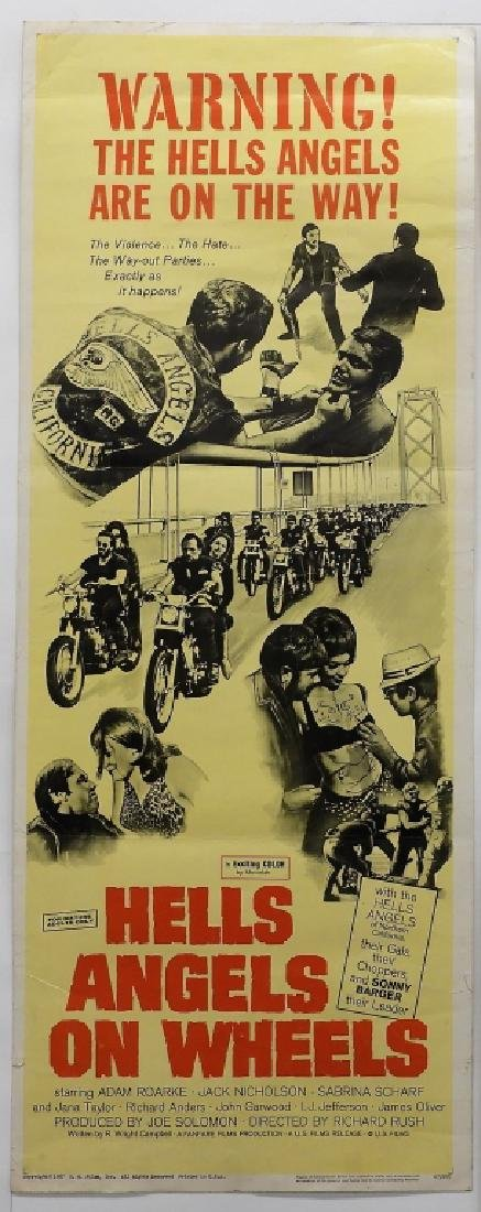 4 Hell's Angels Motorcycle Club Movie Posters - 2
