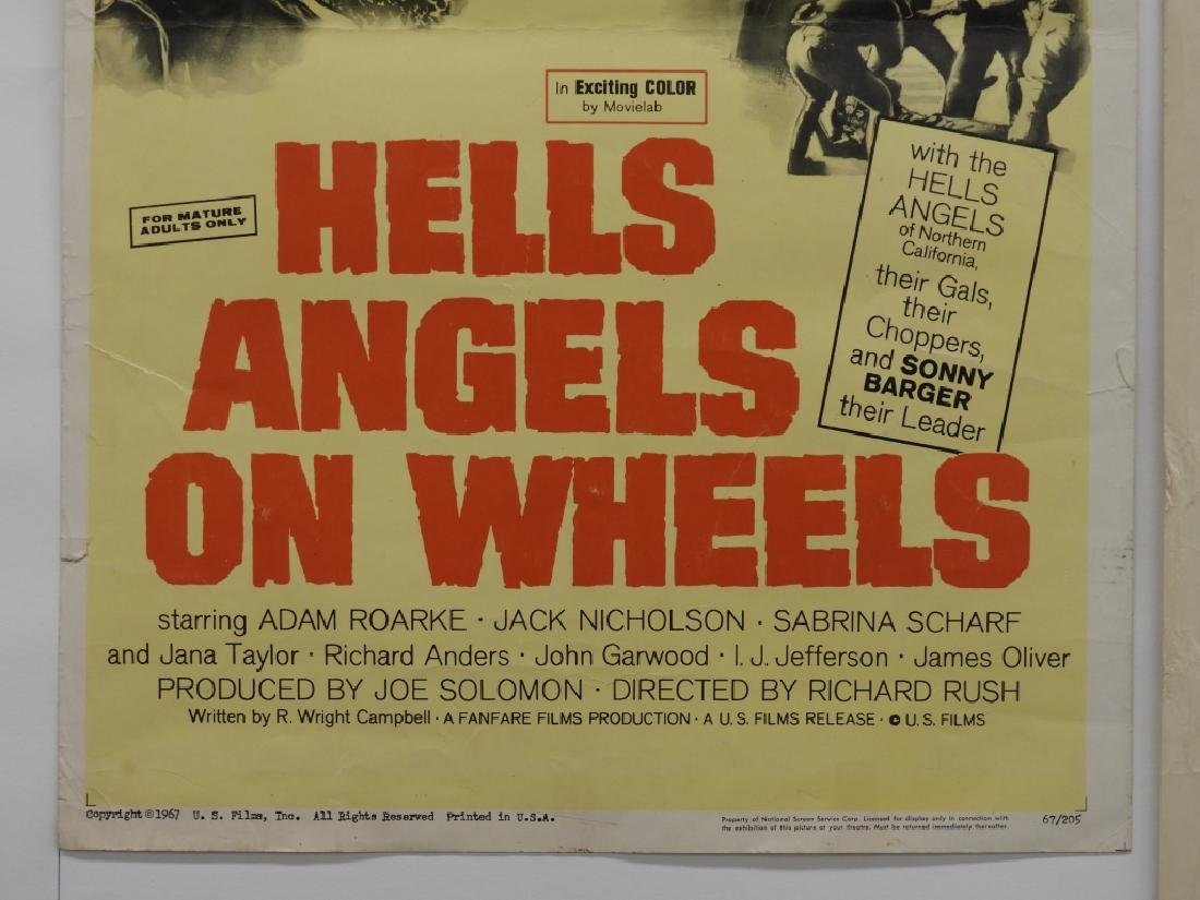 4 Hell's Angels Motorcycle Club Movie Posters - 3