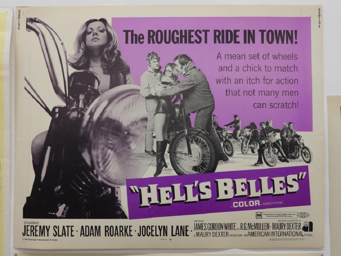 4 Hell's Angels Motorcycle Club Movie Posters - 4