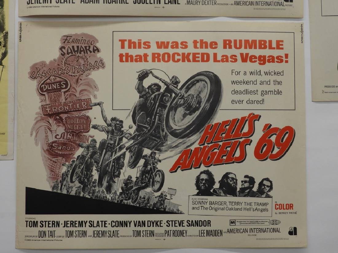 4 Hell's Angels Motorcycle Club Movie Posters - 6