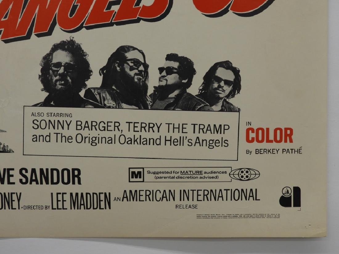 4 Hell's Angels Motorcycle Club Movie Posters - 8