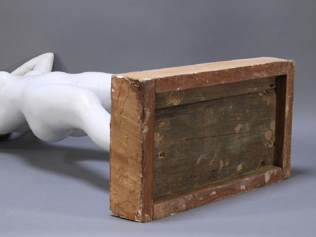 20C. American Design Plaster Sculpture of Nude - 7