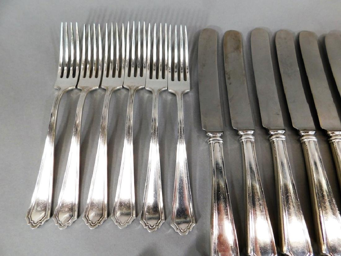 Mixed Lot Sterling Silver Flatware Forks Spoons - 2