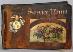 WWII Marine Pacific Campaign Photo Album w/ Nudes