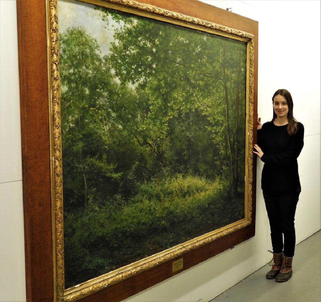 LG Rene Fath Maisons-Laffitte Landscape Painting