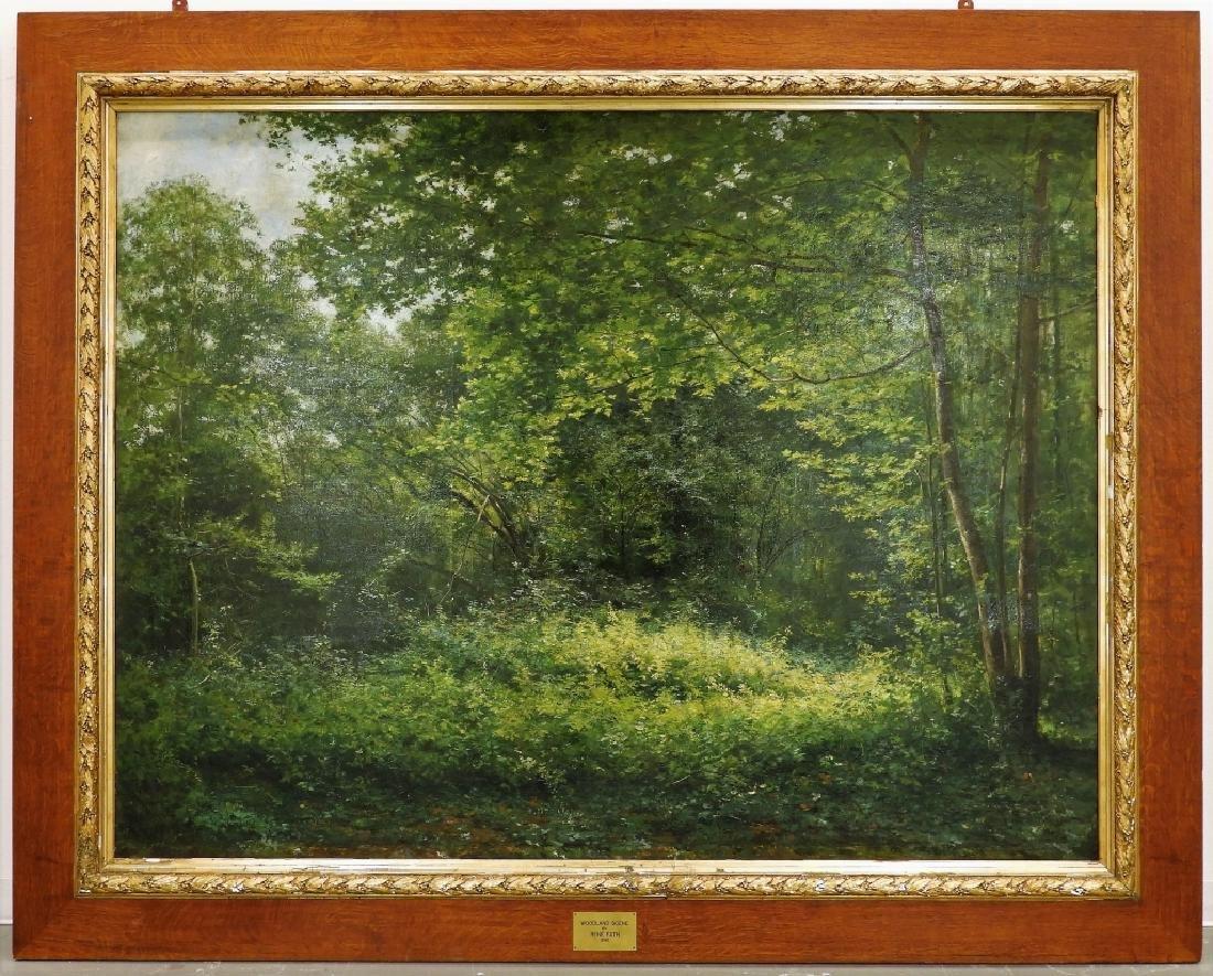LG Rene Fath Maisons-Laffitte Landscape Painting - 2