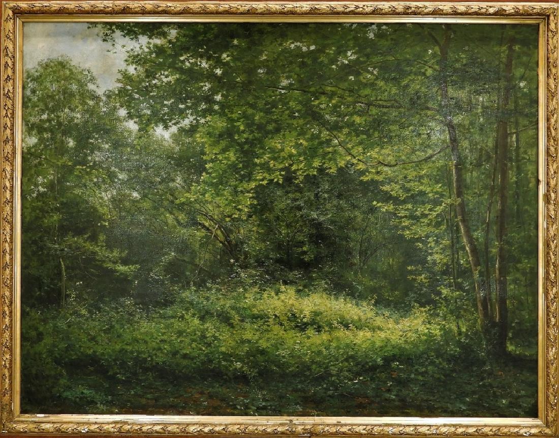 LG Rene Fath Maisons-Laffitte Landscape Painting - 3