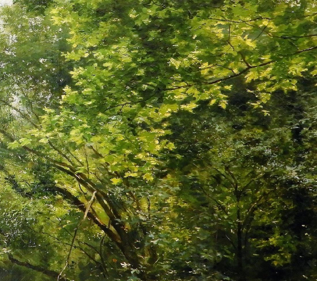 LG Rene Fath Maisons-Laffitte Landscape Painting - 4
