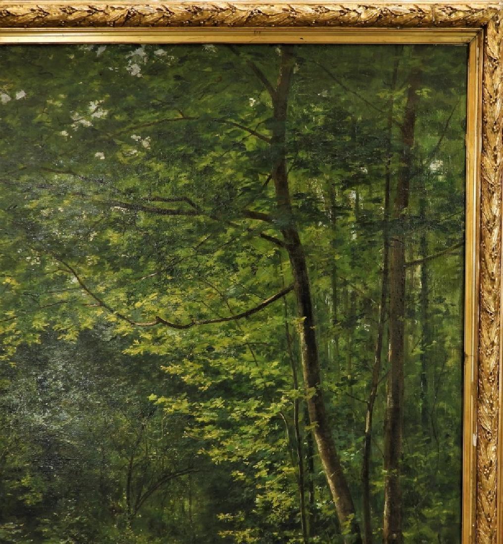 LG Rene Fath Maisons-Laffitte Landscape Painting - 5
