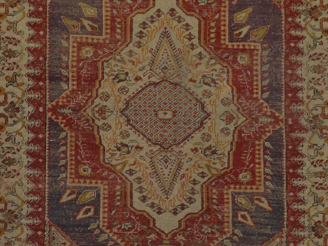 C.1900 Turkish Oushak Middle Eastern Carpet Rug - 2