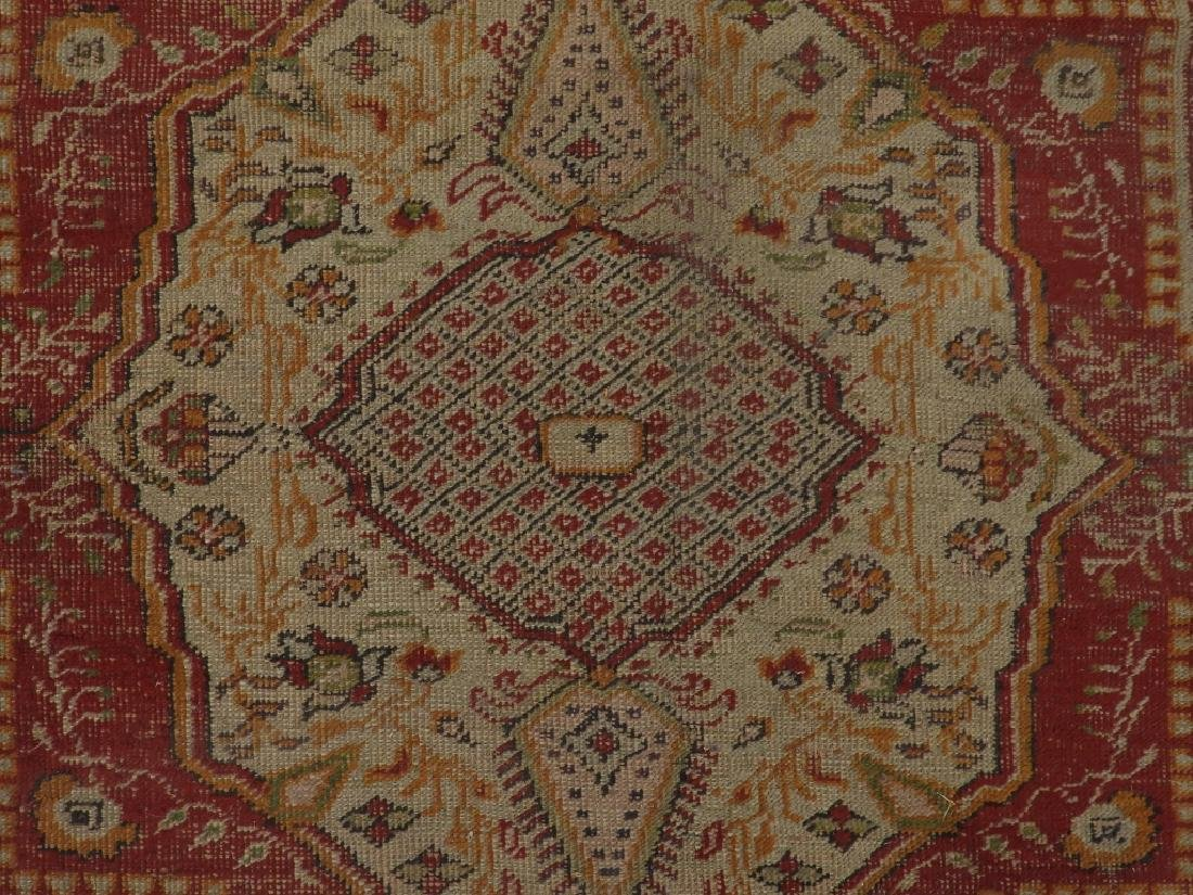 C.1900 Turkish Oushak Middle Eastern Carpet Rug - 5