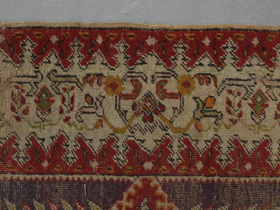 C.1900 Turkish Oushak Middle Eastern Carpet Rug - 6