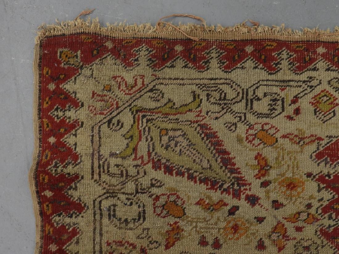 C.1900 Turkish Oushak Middle Eastern Carpet Rug - 7