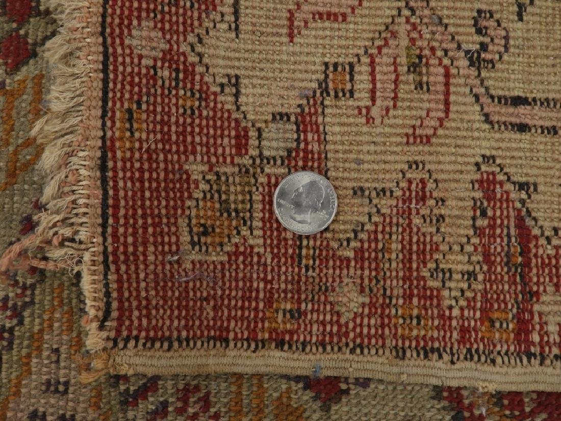 C.1900 Turkish Oushak Middle Eastern Carpet Rug - 8
