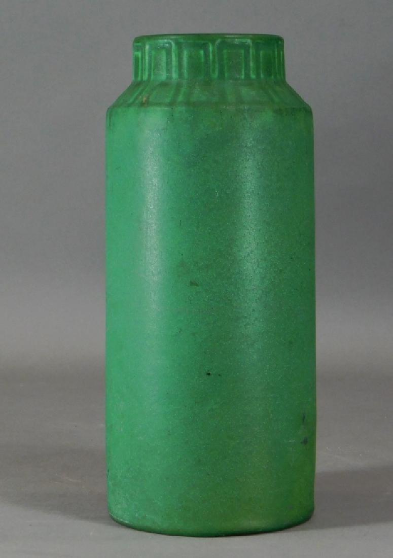 C.1908 Rookwood Matte Green Mission Pottery Vase