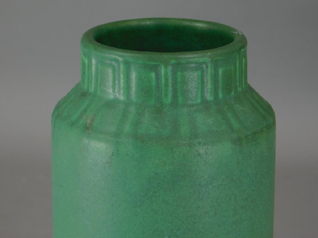 C.1908 Rookwood Matte Green Mission Pottery Vase - 2