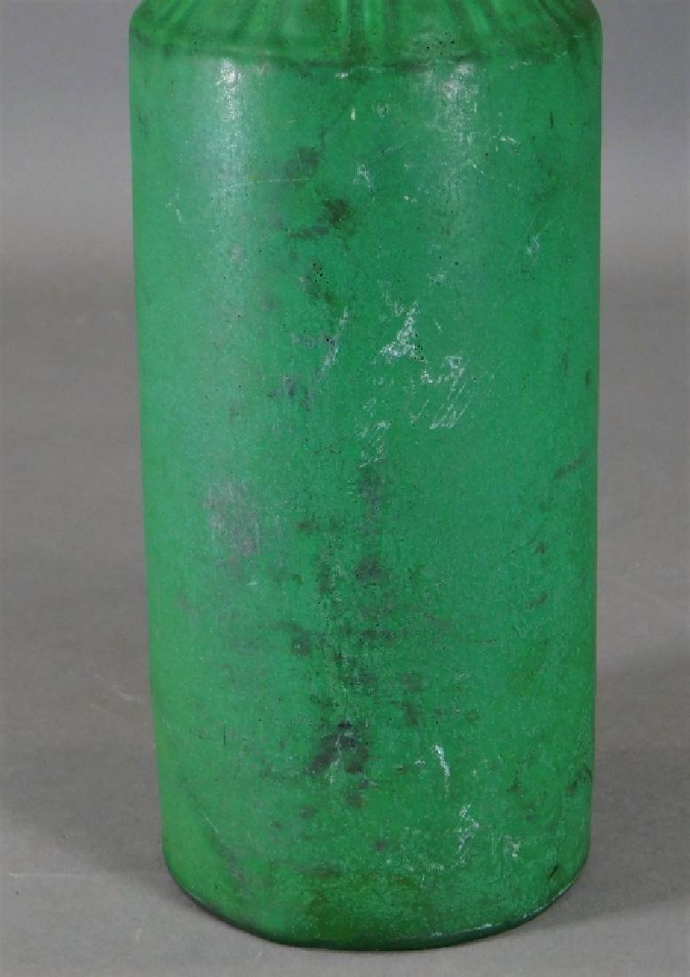 C.1908 Rookwood Matte Green Mission Pottery Vase - 3