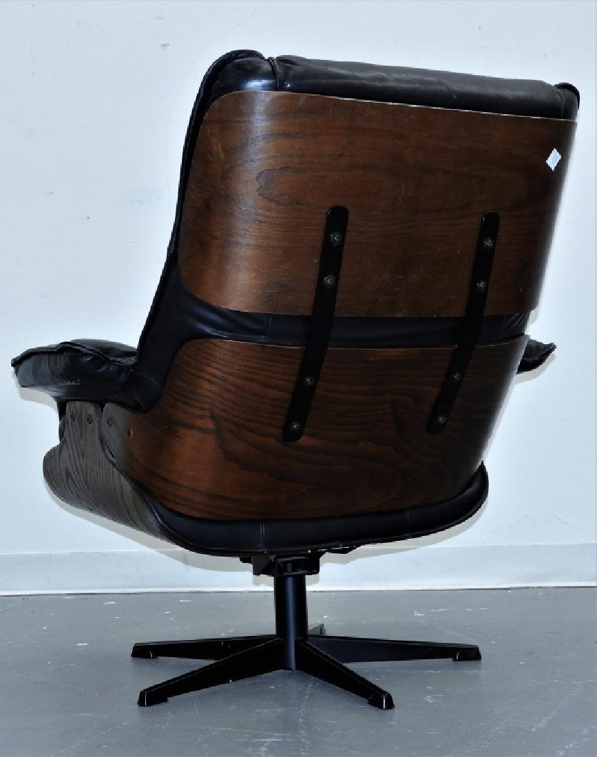 C.1960 Herman Miller Eames Style Lounge Chair - 5