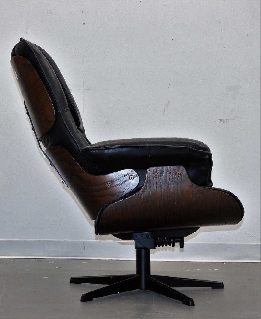C.1960 Herman Miller Eames Style Lounge Chair - 6