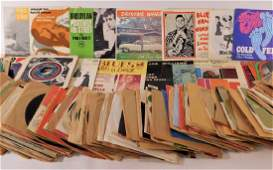 OVER 120 Vintage 45rpm Jazz Blue's Music Records