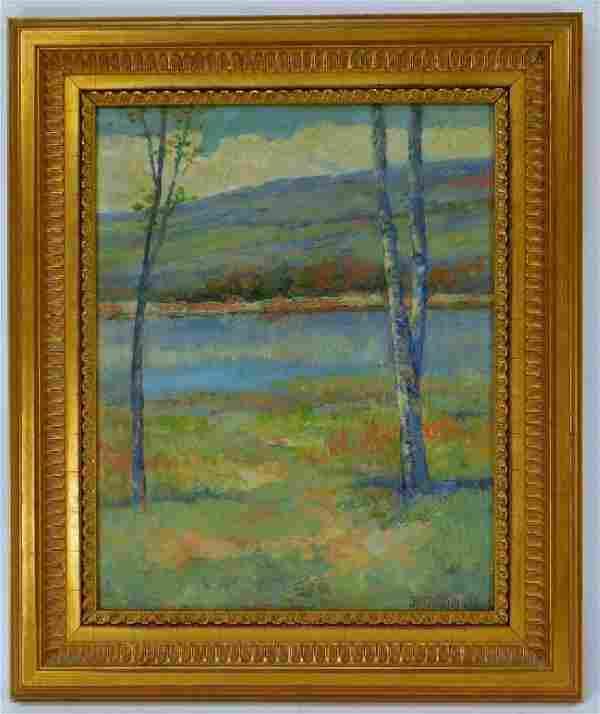 Louis Richardson Impressionist Catskill Painting