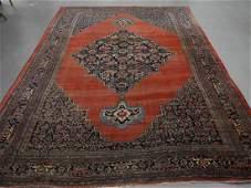 Antique Persian Bidjar Room Size Carpet Rug