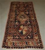 Persian Caucasian Kazak Wool Carpet Rug Runner