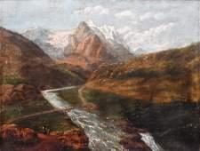 Continental O/C Winter Alps Mountain Landscape