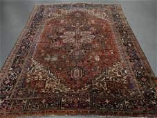 Persian Heriz Room Size Wool Carpet Rug