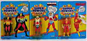 3PC 1985 Kenner Super Powers 33 Back Shazam Group