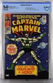 Marvel Comics Captain Marvel #1 CBCS 5.0