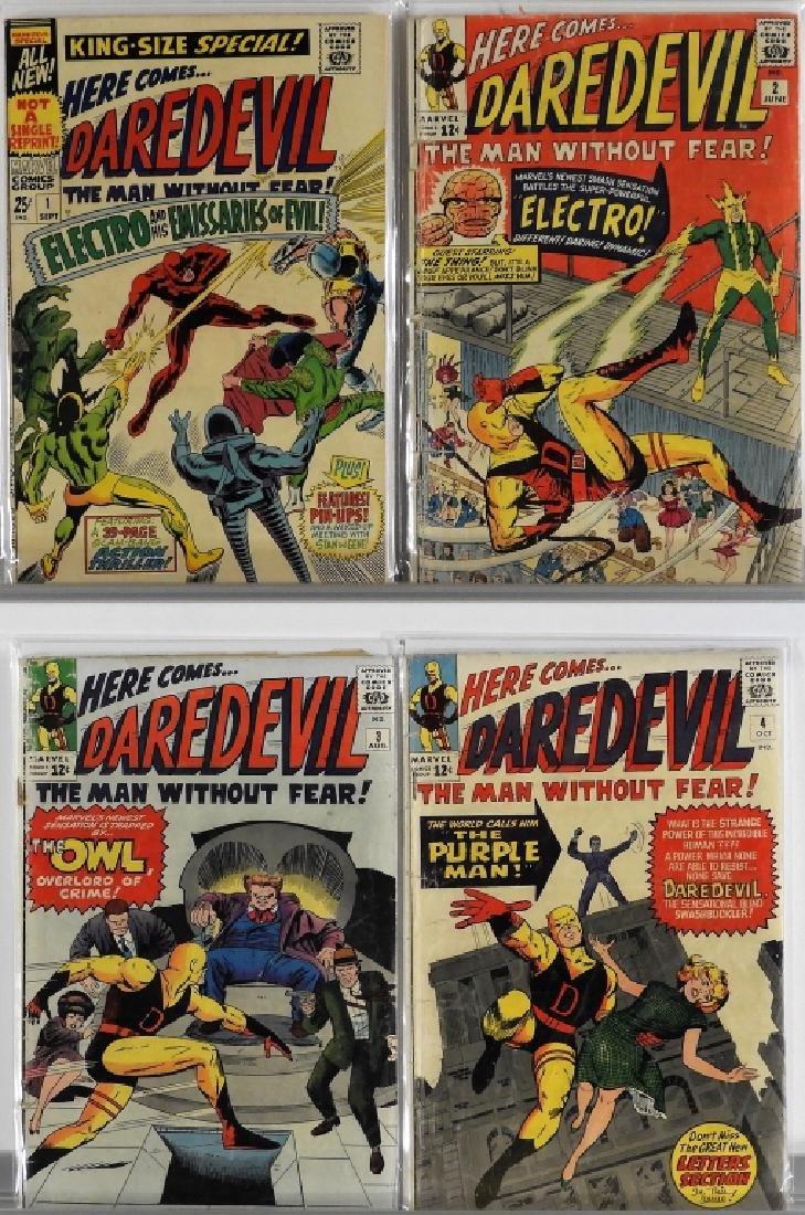 16PC Marvel Comics Daredevil #2-#16 Complete Run - 2