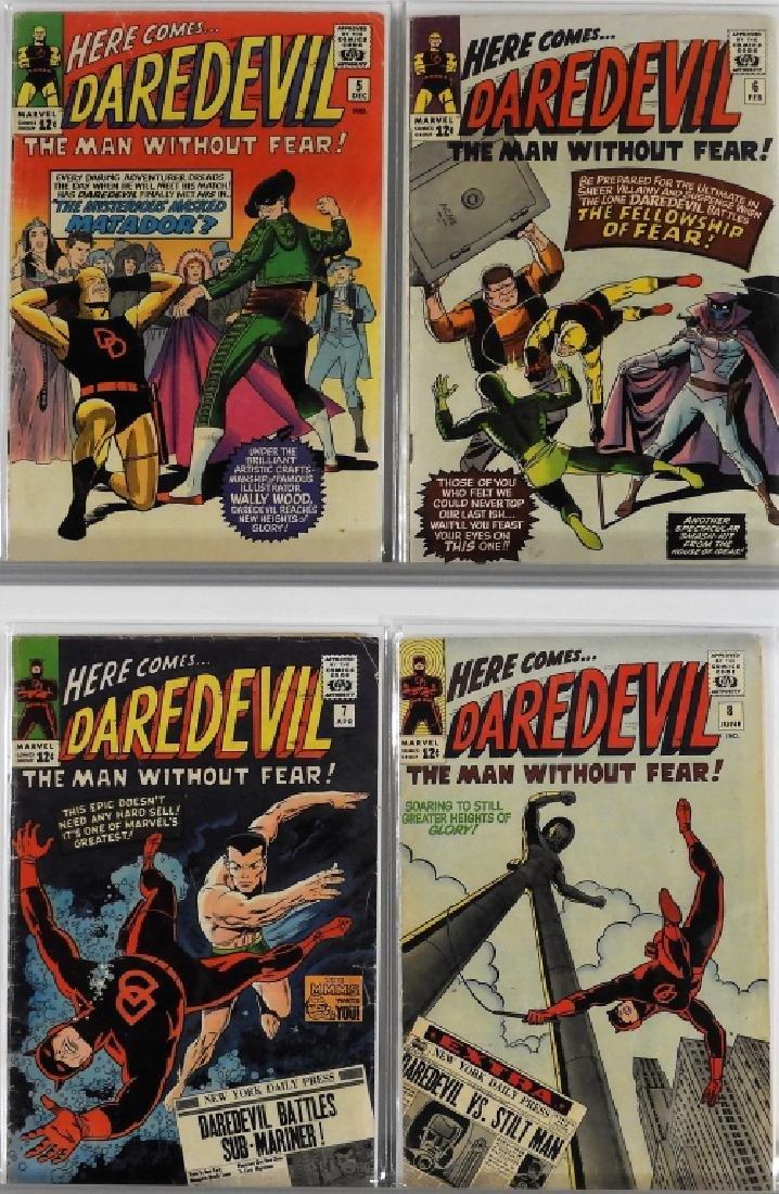 16PC Marvel Comics Daredevil #2-#16 Complete Run - 3