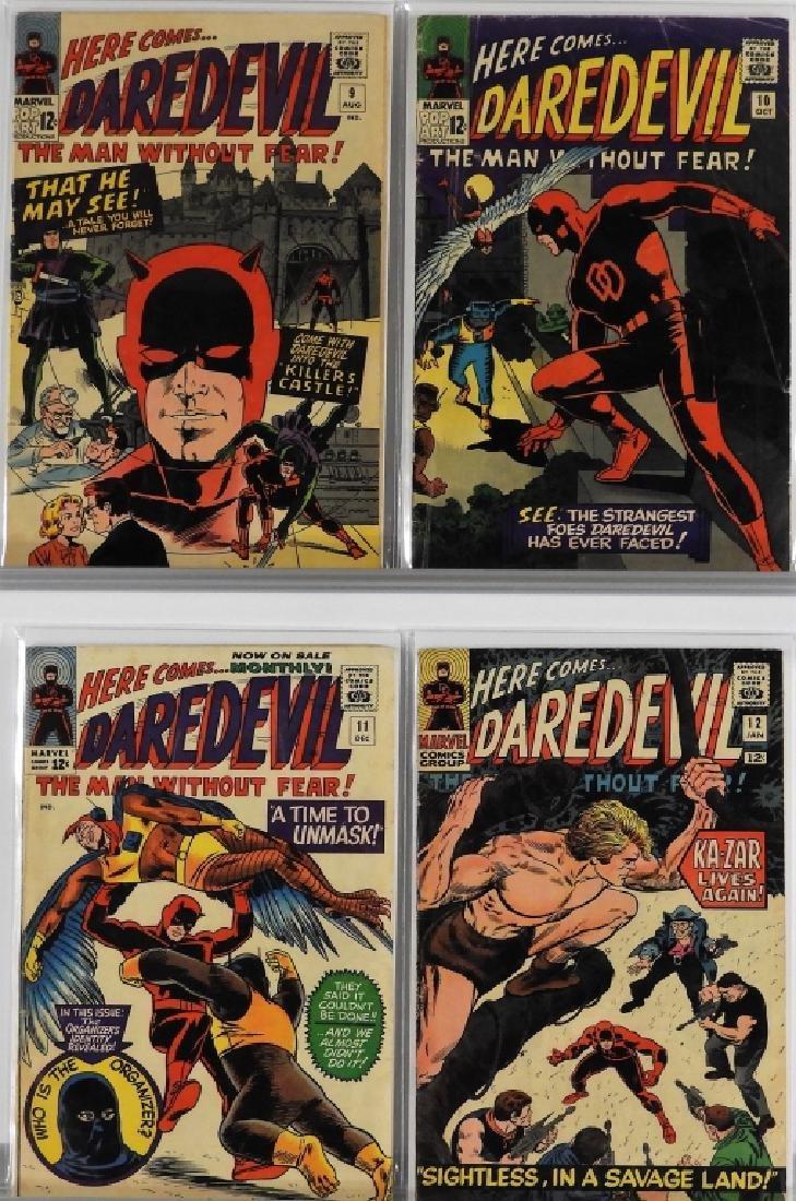 16PC Marvel Comics Daredevil #2-#16 Complete Run - 4